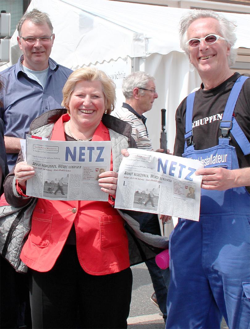 Sozialministerin Rundt mit NETZ