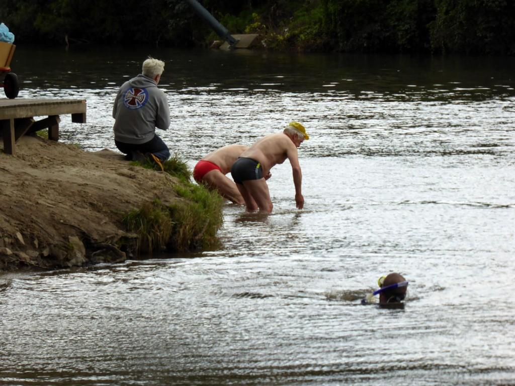 1-Leine-Schwimmen-Start